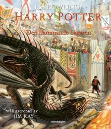 Harry Potter och den flammande bägaren illustrerad
